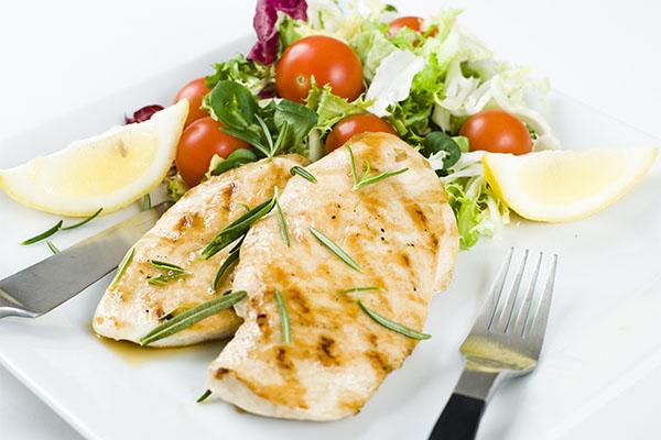 dieta wysokobiałkowa kurczak filet