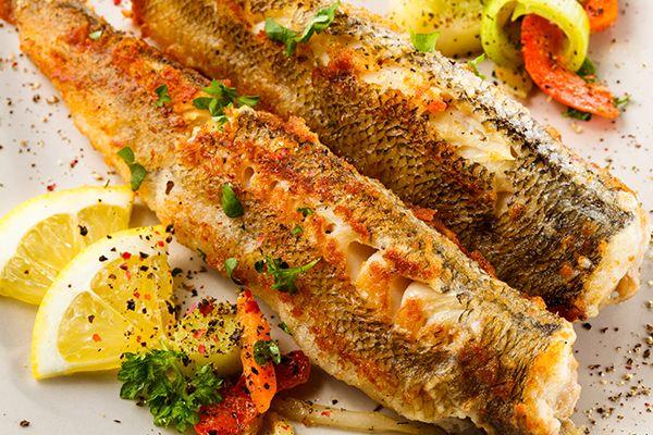ryba smażona