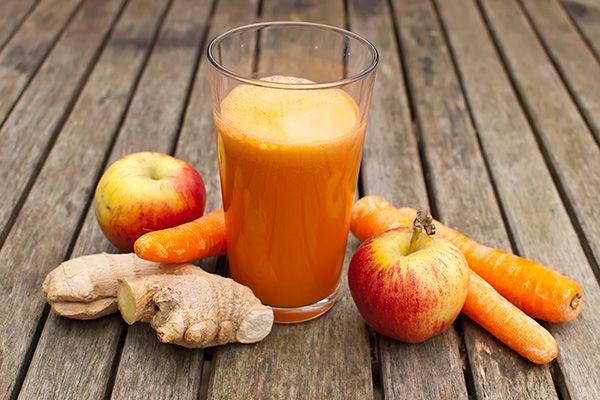 sok z jabłek i imbiru