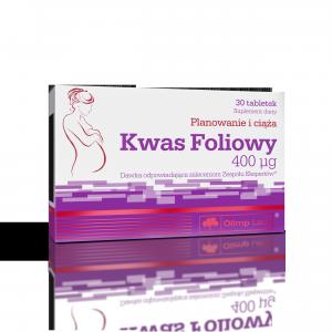 Kwas foliowy 400 mg