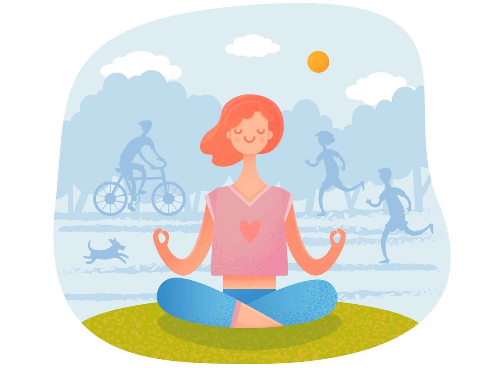 joga trening w domu