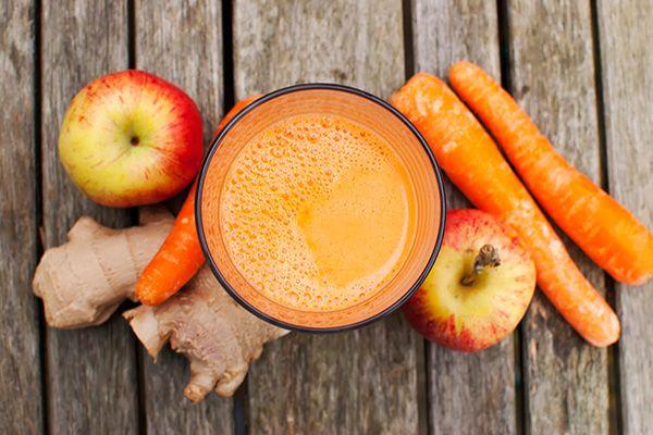 sok marchwiowo-jabłkowy