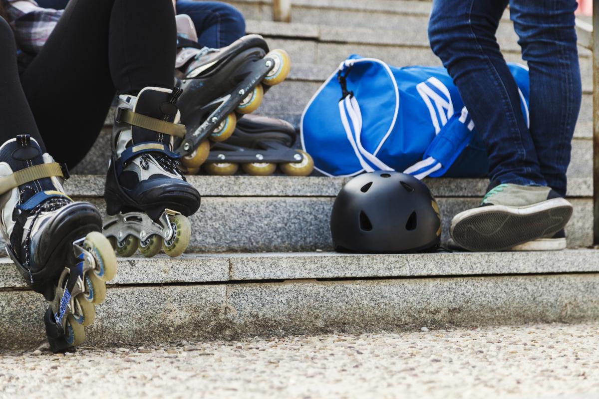 jazda na rolkach trening